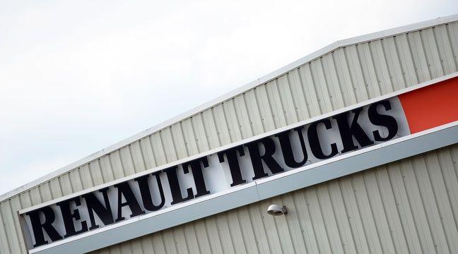 lyon les cadres de renault trucks manifestent pour sauver leur emploi. Black Bedroom Furniture Sets. Home Design Ideas