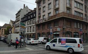 Strasbourg: Opération escargot des ambulanciers en colère