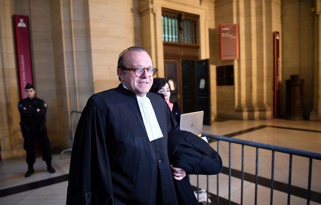 L'avocat Hervé Témime au palais de justice de Paris.