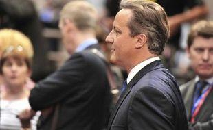 Le Premier ministre britannique David Cameron, le 27 juin 2014 à Bruxelles