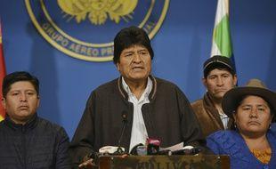 Le président bolivien Evo Morales a annoncé sa démission le 10 novembre 2019.