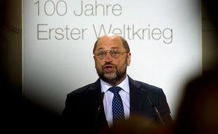 Martin Schulz est le candidat des socialistes européens à la Commission européenne