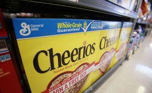 Un beau coup de pub pour les céréales Cheerios.