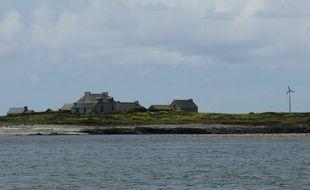 L'île de Quéménès, en 2011.