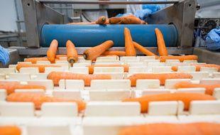 Une première légumerie de produits issus de l'agriculture bio et conventionnelle a ouvert en Ile-de-France (Illustration).