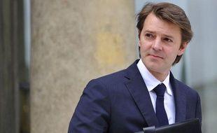François Baroin, le ministre de l'Economie, à la sortie du conseil des ministres, le 11 juillet 2011.