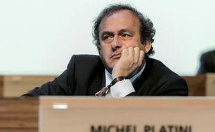 Michel Platini, le 11 juin 2014, à Sao Paulo