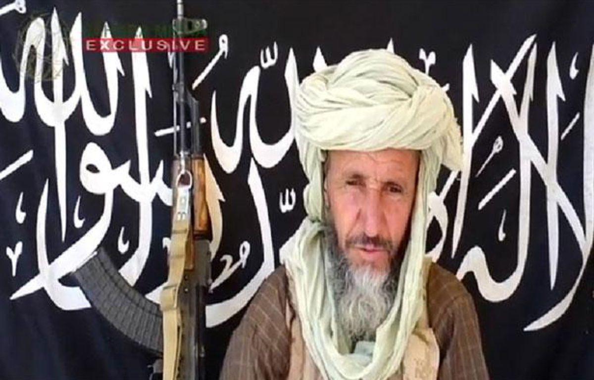 Image tirée d'une vidéo publiée le 25 décembre 2012 par Sahara Media, montrant l'émir d'Aqmi, Abdelhamid Abou Zeid. Le djihadiste aurait été tué par les forces français dans l'extrême Nord du Mali, a indiqué la télévision algérienne Ennahar TV le 28 février 2013. – AFP PHOTO / SAHARA MEDIA
