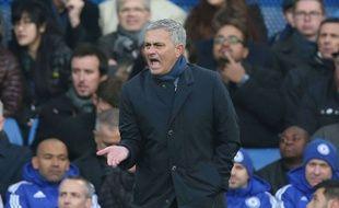 José Mourinho lors du match entre Chelsea et Norwich le 21 novembre 2015.
