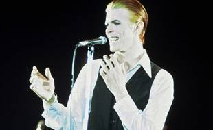 David Bowie en 1978, pendant la tournée «Station to station».