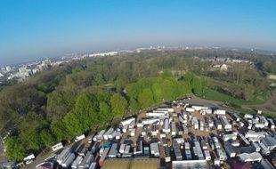 Le Bois de Boulogne, le principal secteur vert de la ville de Lille.
