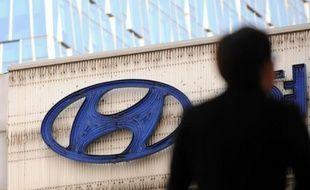 Logo de la firme Hyundai (photo d'illustration)
