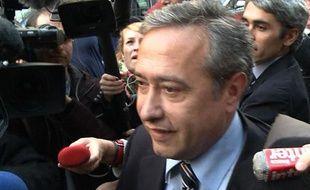 Dominique Tiberi, adjoint au maire du 5e arrondissement, en octobre 2011