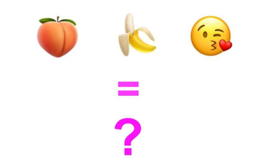 Aubergine Peche Taco Comment Parler De Sexe Avec Les Emojis