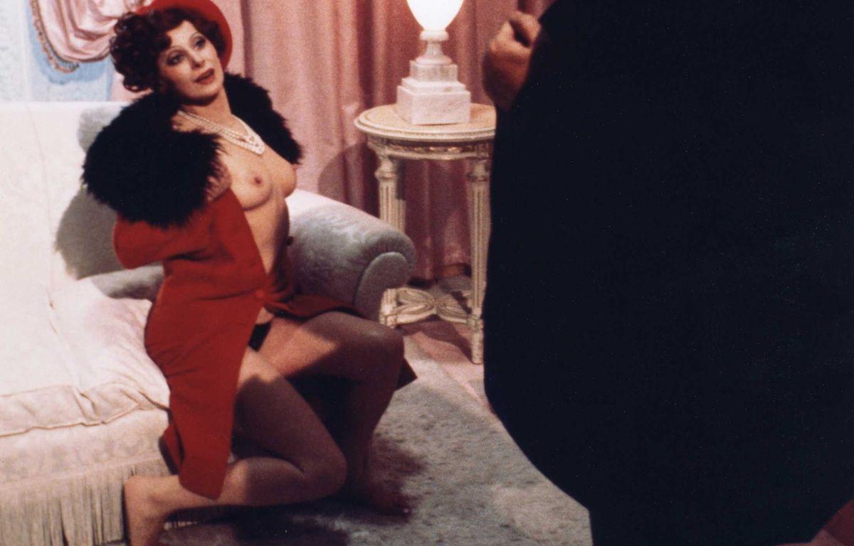 Magali Noël dans Amarcord de Fellini, en 1973. –  INTERFOTO USA/SIPA