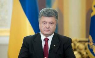 Le président ukrainien Petro Porochenko le 21 juin 2014