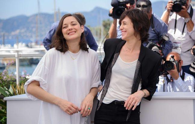 Marion Cotillard et Charlotte Gainsbourg au Festival de Cannes pour leur film