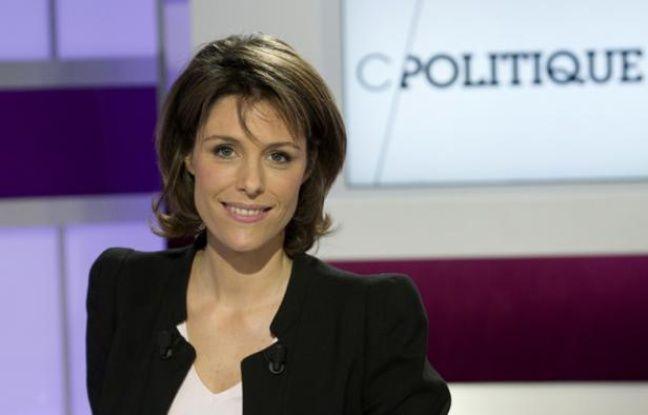 Géraldine Muhlmann, présentatrice de «C Politique»