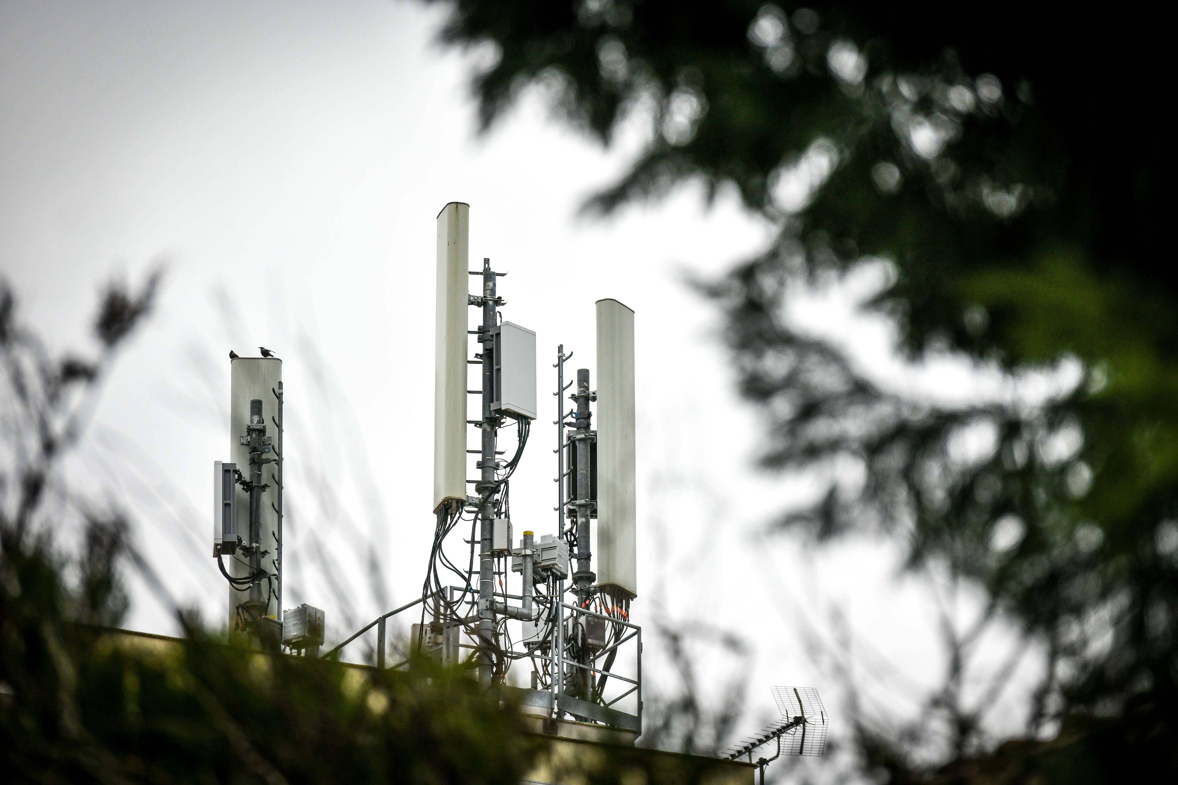 Une antenne-relais 5G. Illustration.