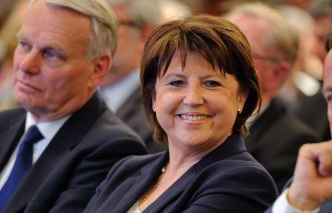 Martine Aubry au Conseil national du parti socialiste, le 14 mai 2012.