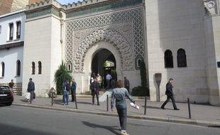La Mosquée de Paris, le 25 septembre 2014.