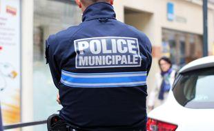 Illustration d'un agent de police municipale, ici à Rennes.