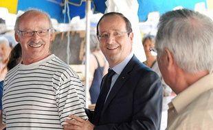 François Hollande était ce samedi 21juillet en Corrèze.