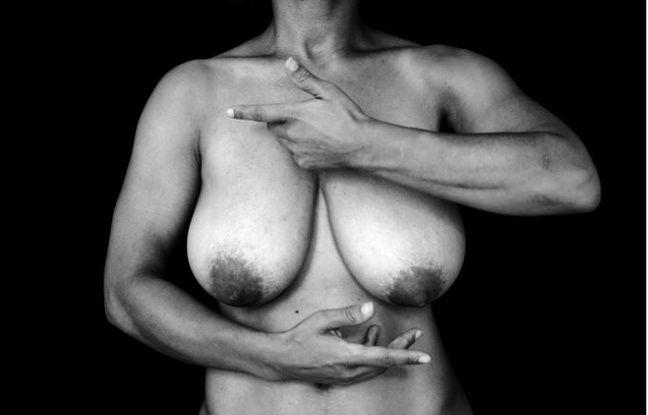 Caroline, photographiée par Camille Froidevaux-Metterie pour son livre «Seins, en quête d'une libération»