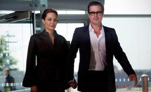 Angelina Jolie et Brad Pitt, le 13 juin 2014, à Londres