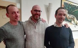 Pierre-Emmanuel Germain-Thill, François Devaux et Alexandre Hezez ont inspiré François Ozon pour le fim