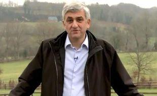 Hervé Morin délivre ses voeux pour 2013 depuis sa Normandie natale.