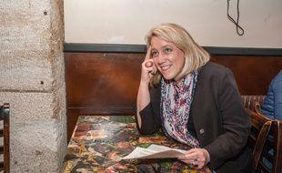 Danielle Simonnet, élue insoumise au Conseil de Paris et candidate à la mairie