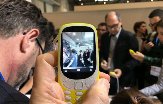 Le Nokia 3310 et son célèbre capteur photo de 2 mégapixels.