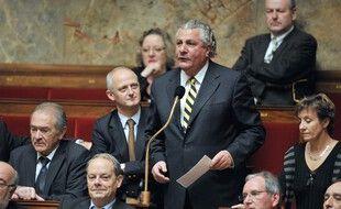 Le député PS Henri Jibrayel à l'Assemblée Nationale, le 23 novembre 2010.