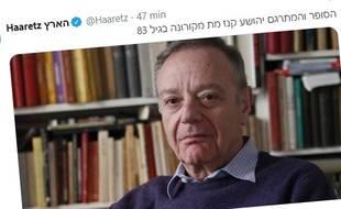 Le 12 octobre 2020, le quotidien israélien Haaretz a annoncé la mort de l'auteur Yehoshua Kenaz.