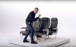 Rowan Atkinson, dans le nouveau spot sécurité de British Airways.