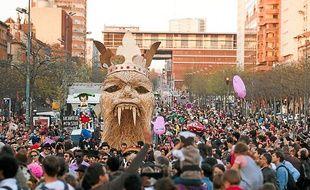 Près de 50 000 personnes ont participé en 2012 à la renaissance du Carnaval.