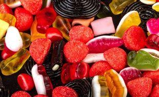 Des bonbons. (Illustration)