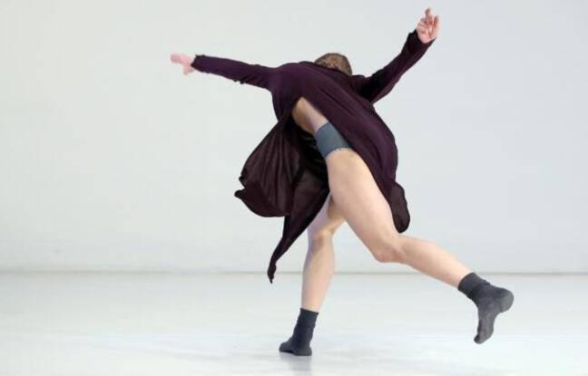 Visuel officiel du spectacle de danse contemporaine reprenant le