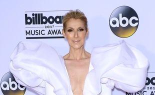 La chanteuse Céline Dion aux Billboard Music Awards