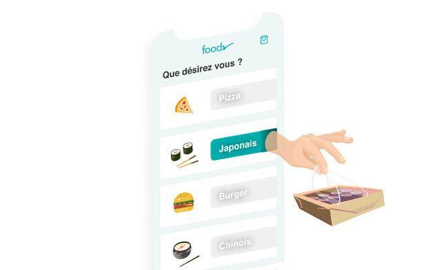 L'application Foodr a été lancée par deux jeunes entrepreneurs d'Occitanie