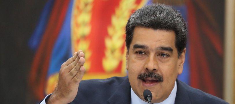 Le président vénézuelien Nicolas Maduro (illustration).