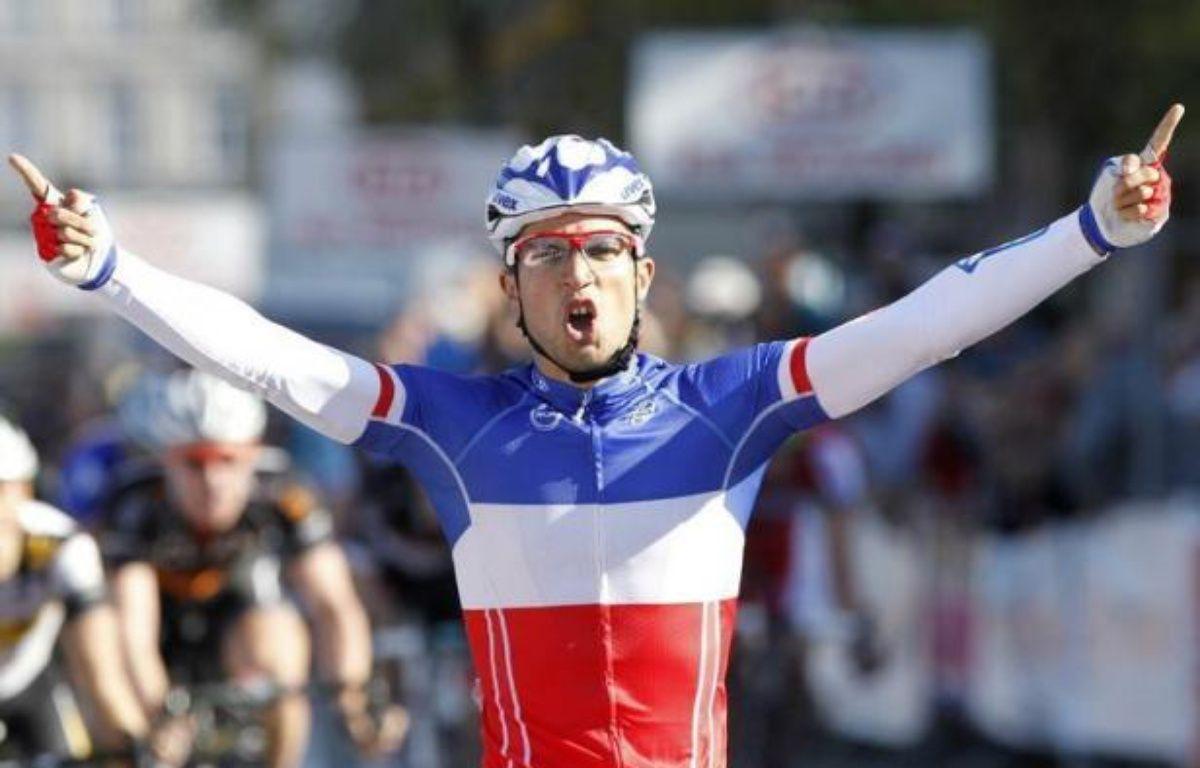 Le dernier grand sprint de la saison est attendu dimanche sur l'avenue de Grammont à l'arrivée de Paris-Tours, la classique de plaine (235,5 km) qui est convoitée par l'Allemand John Degenkolb et le champion de France Nacer Bouhanni mais aussi par les puncheurs. – Kristof van Accom afp.com