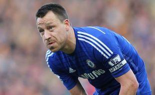 Le capitaine de Chelsea John Terry, lors d'un match contre Hull City, le 22 mars 2015.