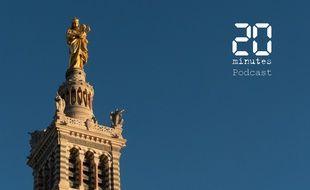 Illustration de la basilique Notre-Dame-de-la-Garde à Marseille