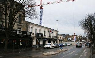 Le 2 février 2017, les quais de Paludate à Bordeaux