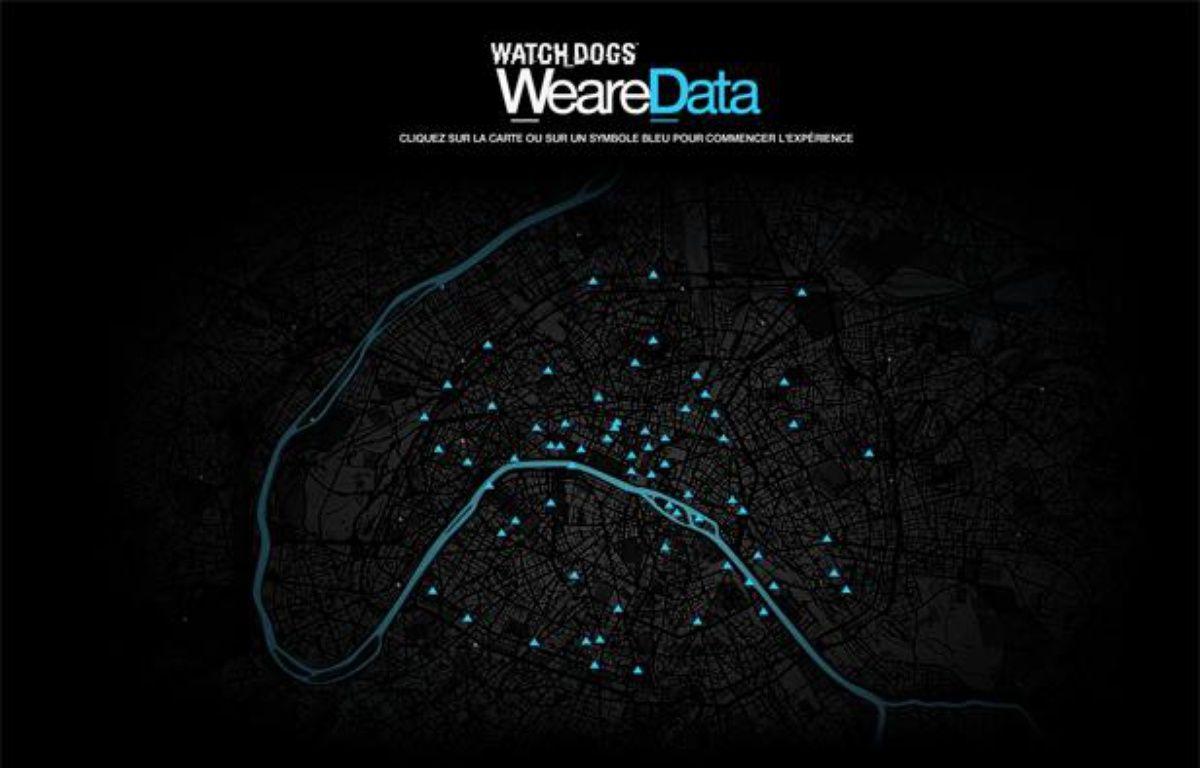 Le site Web We are Data, lancé par Ubisoft, permet d'observer en temps réel les activités de Paris, Londres et Berlin. – WE ARE DATA