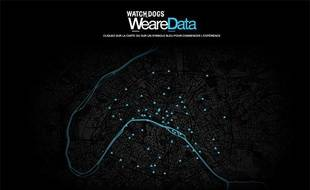 Le site Web We are Data, lancé par Ubisoft, permet d'observer en temps réel les activités de Paris, Londres et Berlin.