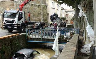 Villegailhenc inondations Aude
