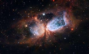 Une portion de la constellation du Cygne vue par Hubble.
